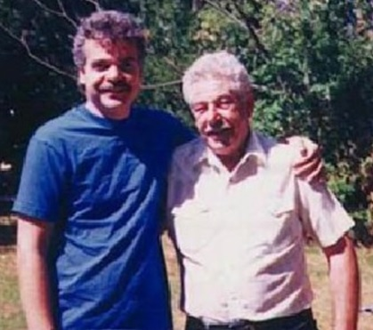 Paul Sanberg and his dad, Bernard Sanberg