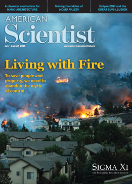 July-August2016 American Scientist Cover