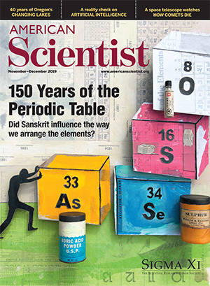 November-December 2019 American Scientist Cover