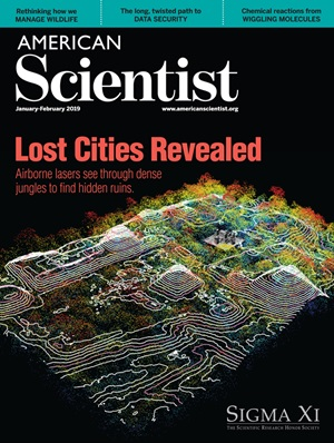 January-February 2019 American Scientist cover