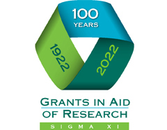 Grants in Aid of Research logo