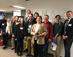 Group photo of Sigma Xi Staff and Russian Delegation